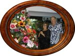 Ричард Джонсон с женой. Таити
