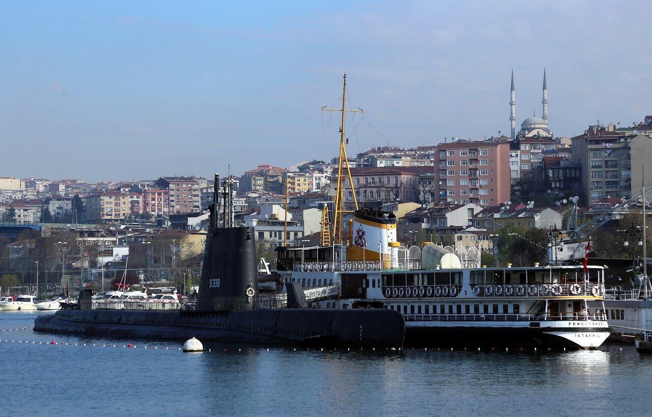 Стамбул. На пароме по заливу Золотой Рог. Эминёню-Айвансарай