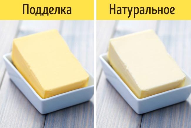 © .depositphotos.com  Натуральное сливочное масло без добавок отличается высокой жирностью— н