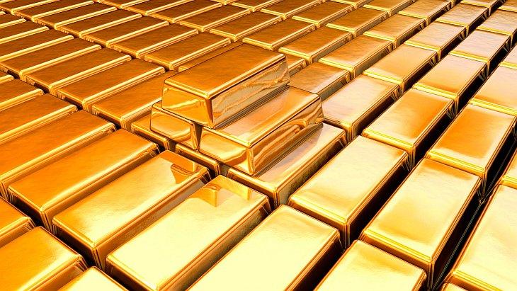 Золотые слитки (11 фото)