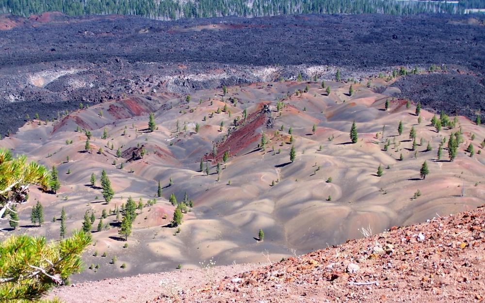 © cdamundsen/flickr     Помимо инопланетных пейзажей национальный парк «Лассен-Во