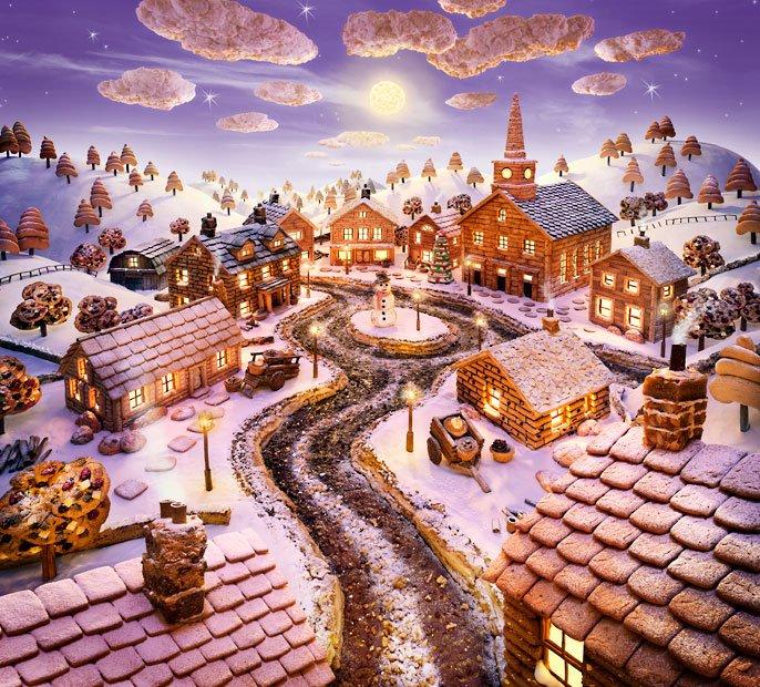 Он сравнивает свои работы с творениями Вилли Вонки из фильма «Чарли и шоколадная фабрика».