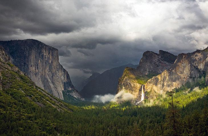 История Национального парка Йосемити (30 фото)