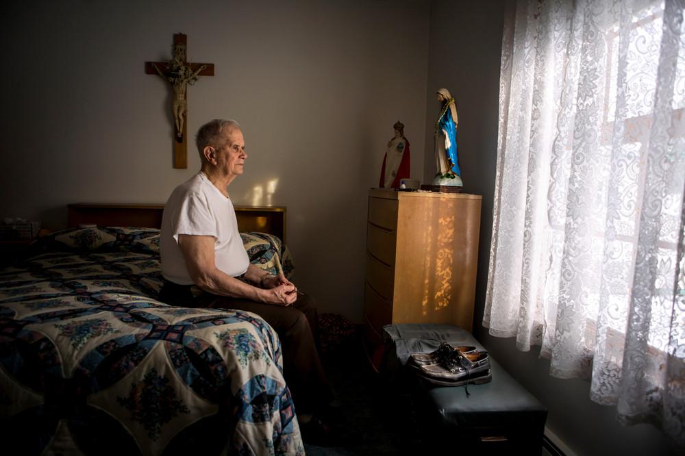 Пипер, Джей, штат Мэн: «Утром я стараюсь не шуметь, чтобы ее не разбудить. А затем вспоминаю, что он