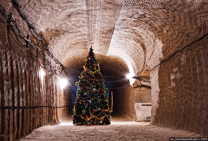 Подземный Соледар (33 фото)