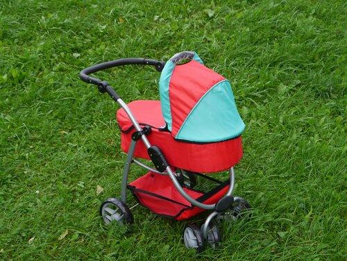 Кукольная коляска Melobo 9662