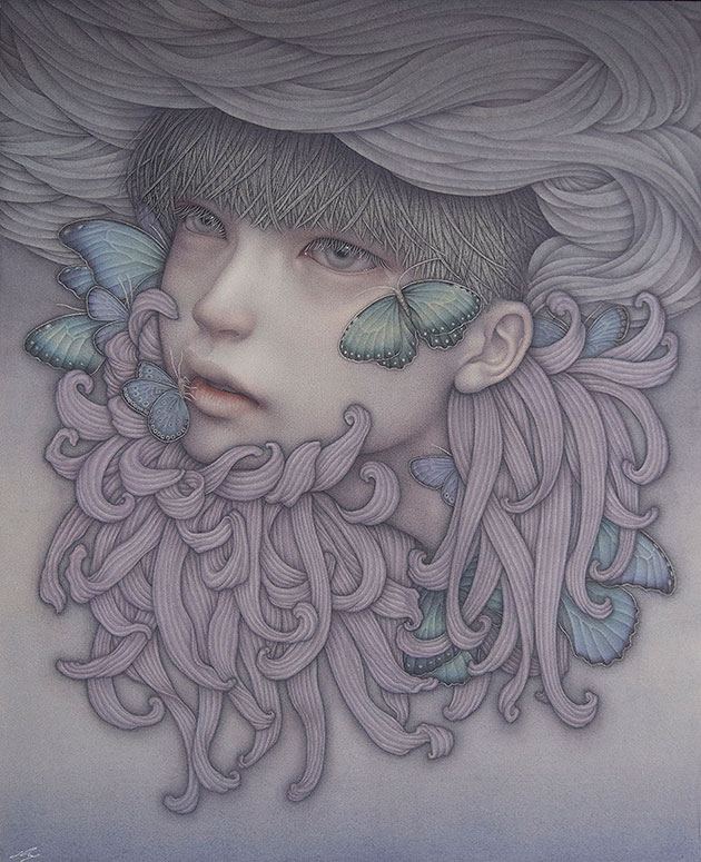 "Previews: Atsuko Goto – ""The Silence of Idols"" @ Thinkspace Gallery (6 pics)"