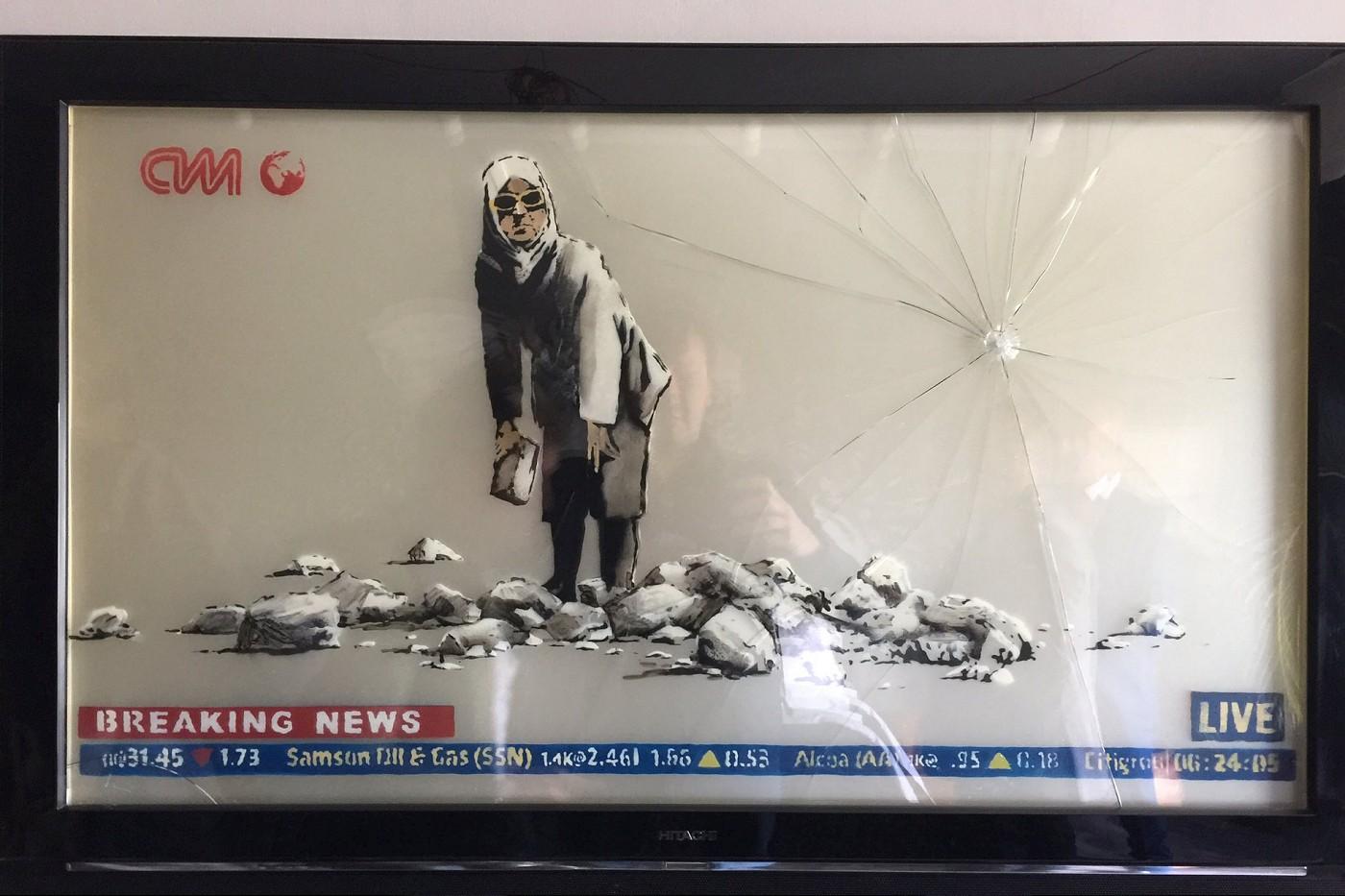 Installation: Banksy's -