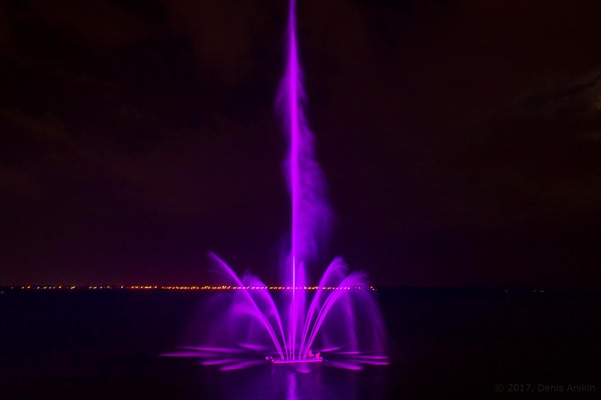 открытие фонтана Сердце Волги фото 14