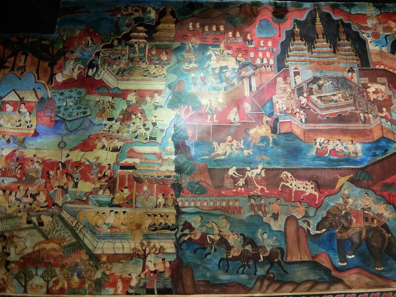 Чиангмай - Музей культурного наследия - Панно