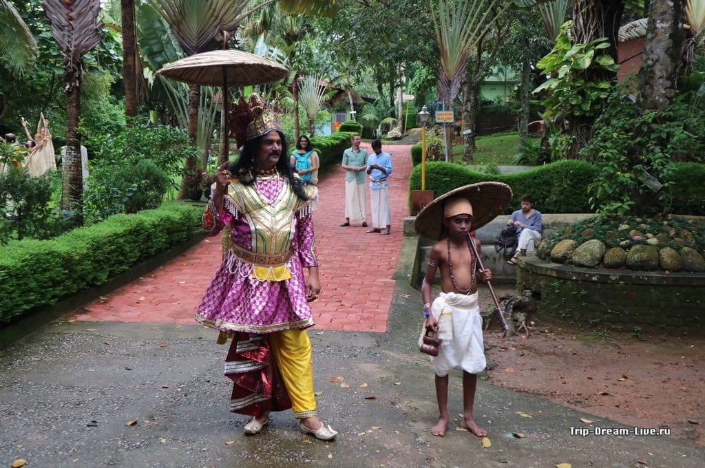 Царь Махабали и карлик
