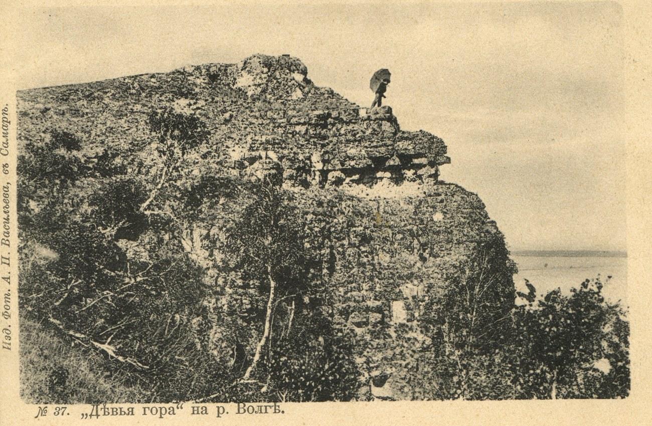 Окрестности Самары. Девья гора на Волге