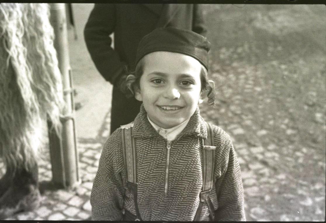 Хассидский мальчик