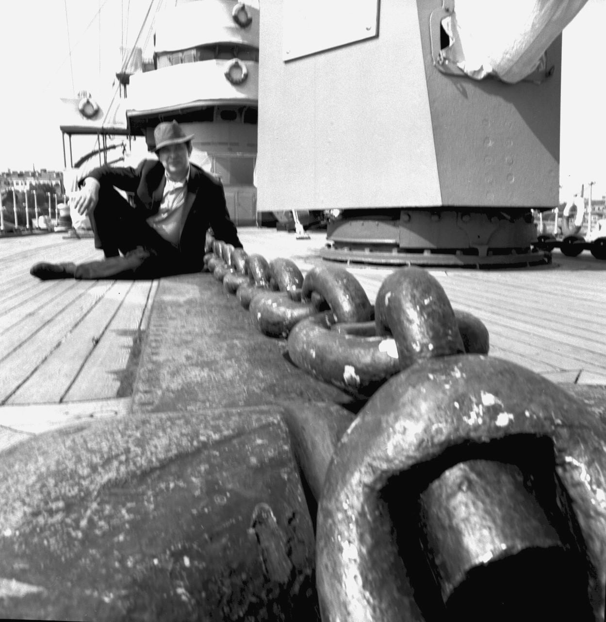 На крейсере Аврора, 1965,06.