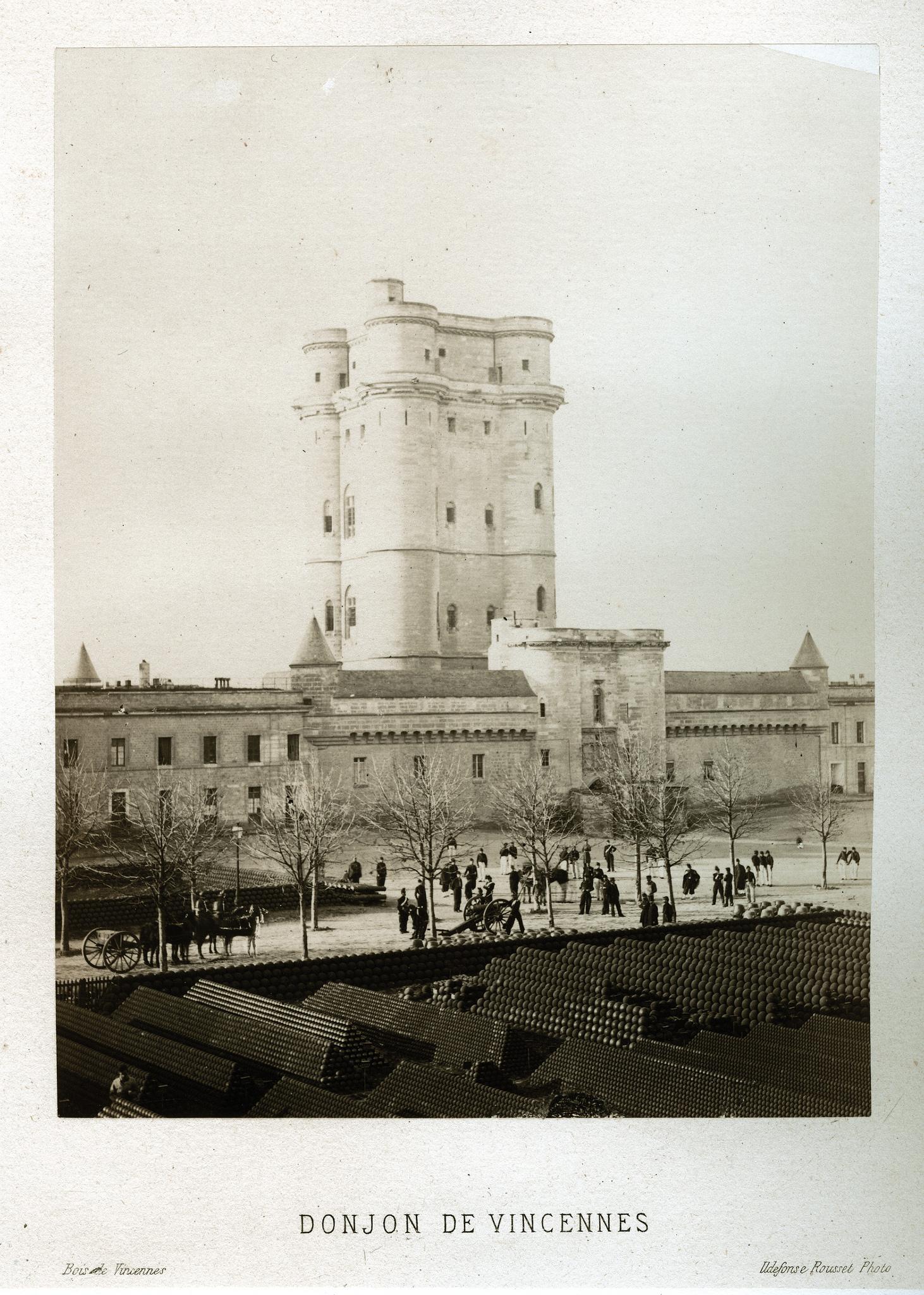 Венсенский замок. Донжон