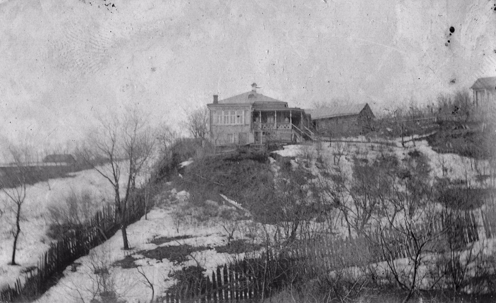 Дом Петра Ивановича Горбунова  в начале прошлого века