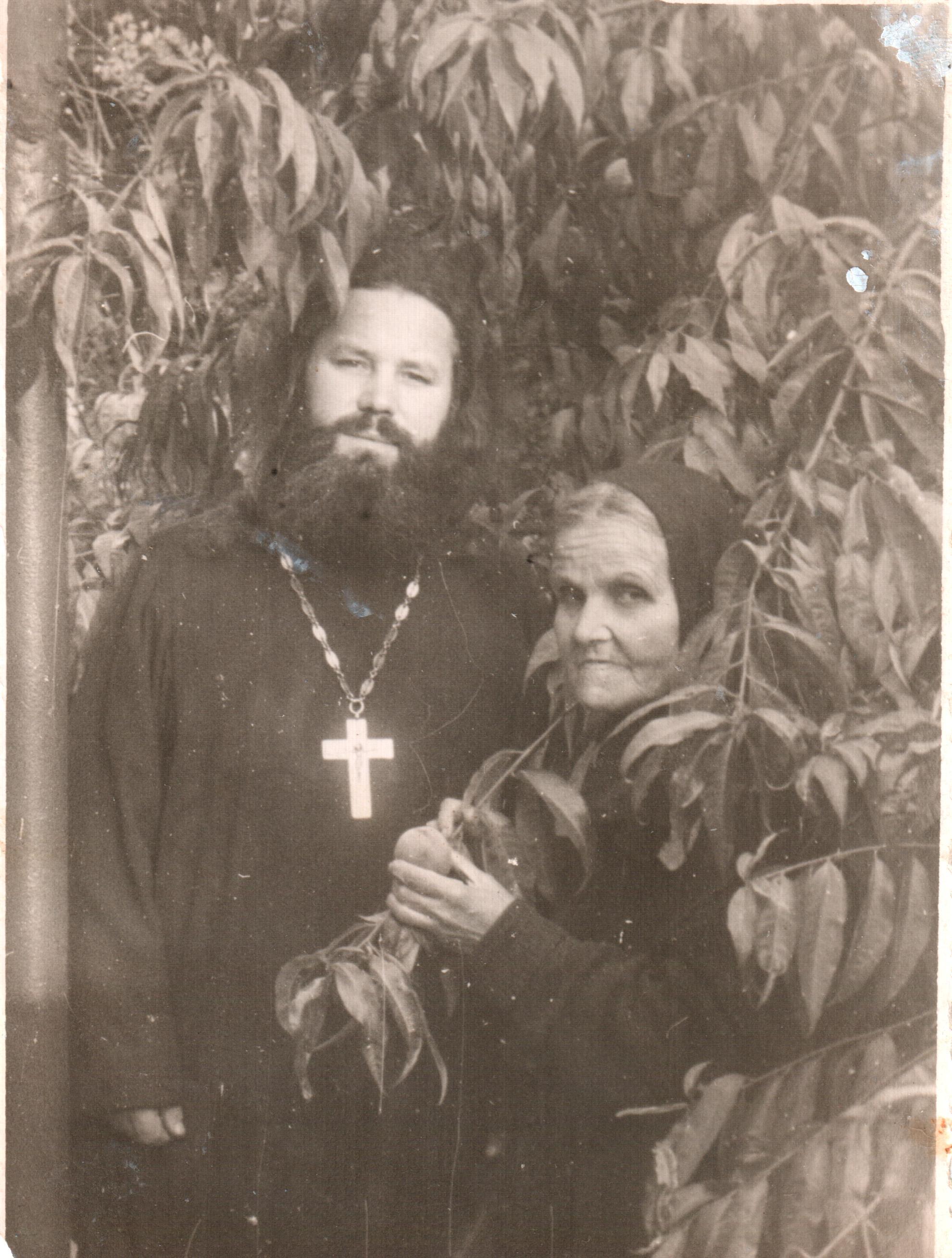 Отец Александр и матушка Васильева