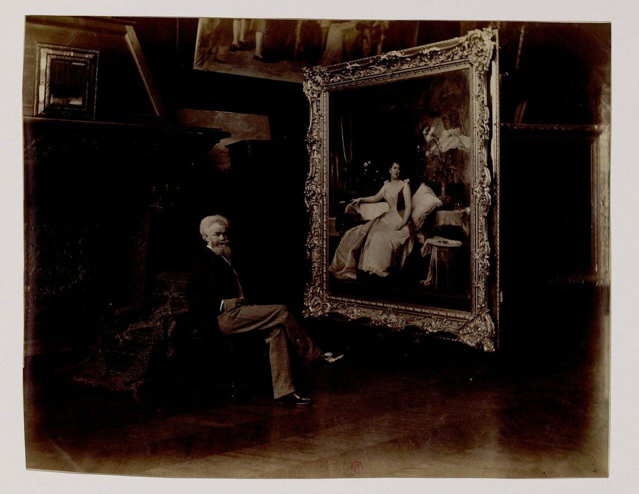01. Михай Мункачи (1844-1900),  венгерский художник реалистического направления, мастер портретной, жанровой и исторической живописи.