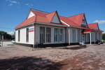 вокзал станции Тамерлан ЮУр ЖД