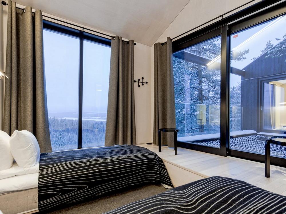 Классные апартаменты на дереве в Швеции