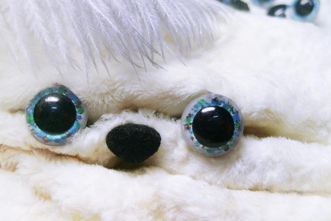 Глаза пластиковые для кукол и игрушек