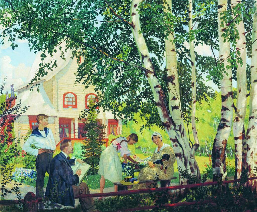 В Тереме (Мой дом). 1914-1918.