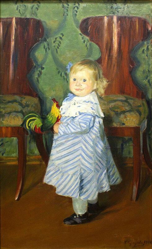 дочь Ирина 1906