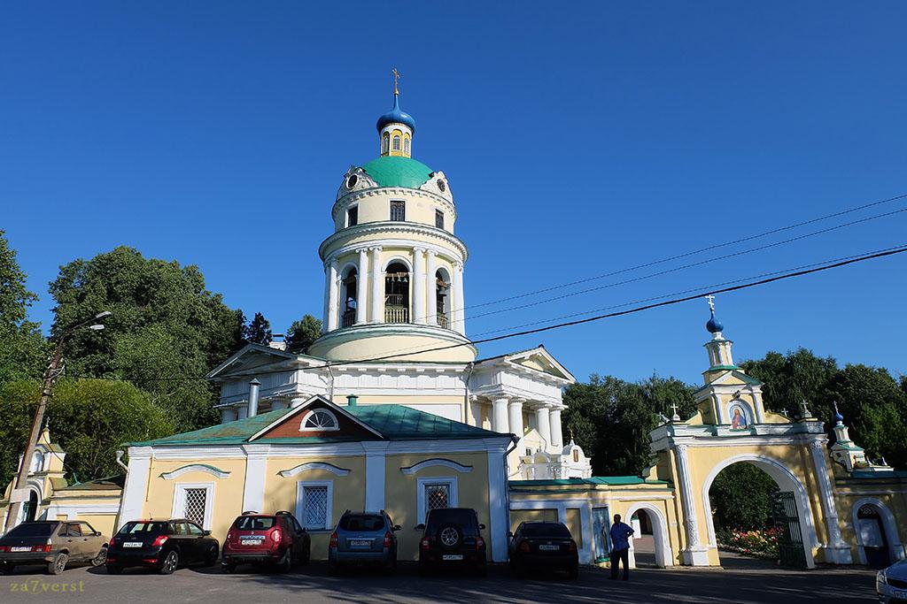 Усадьба Гребнево, Никольский храм