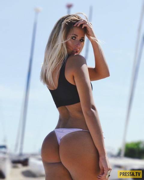 Красивые девушки вид сзади