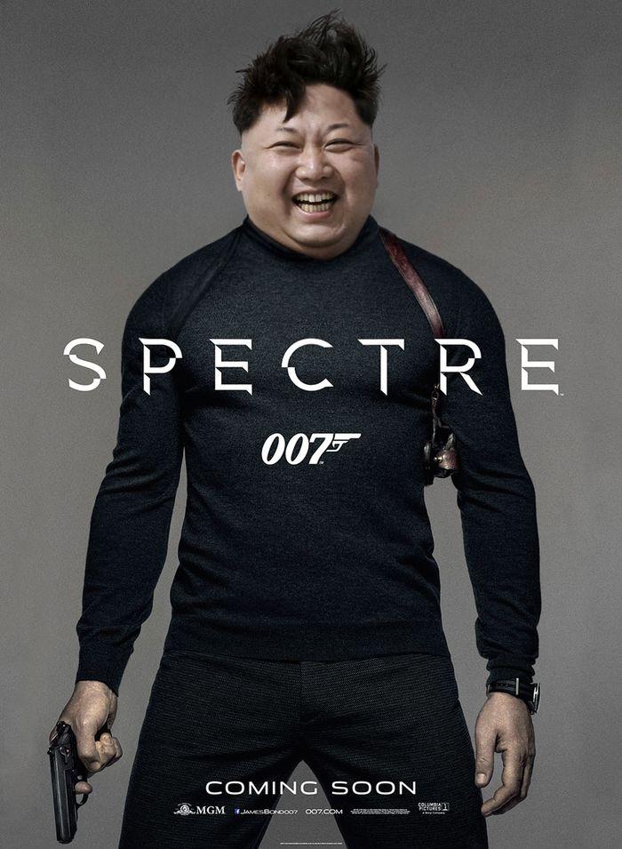 4. «Спектр» — Ким Чен Бонд