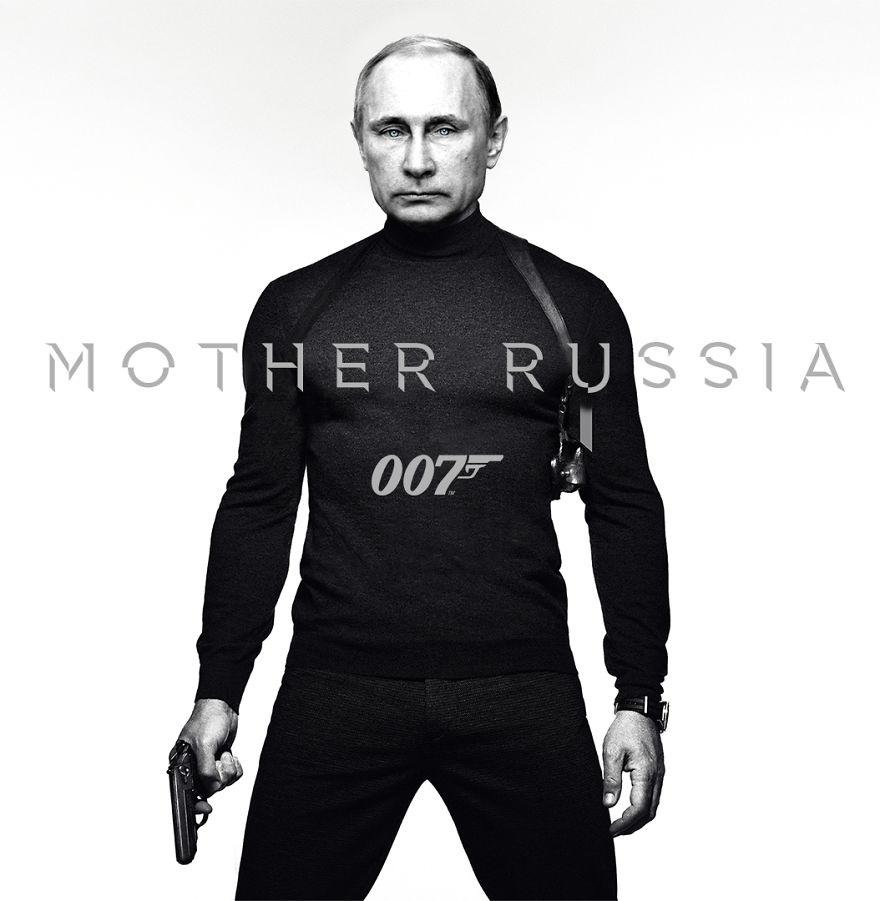 8. «Из России с любовью» — Владимир Владимирович Путин