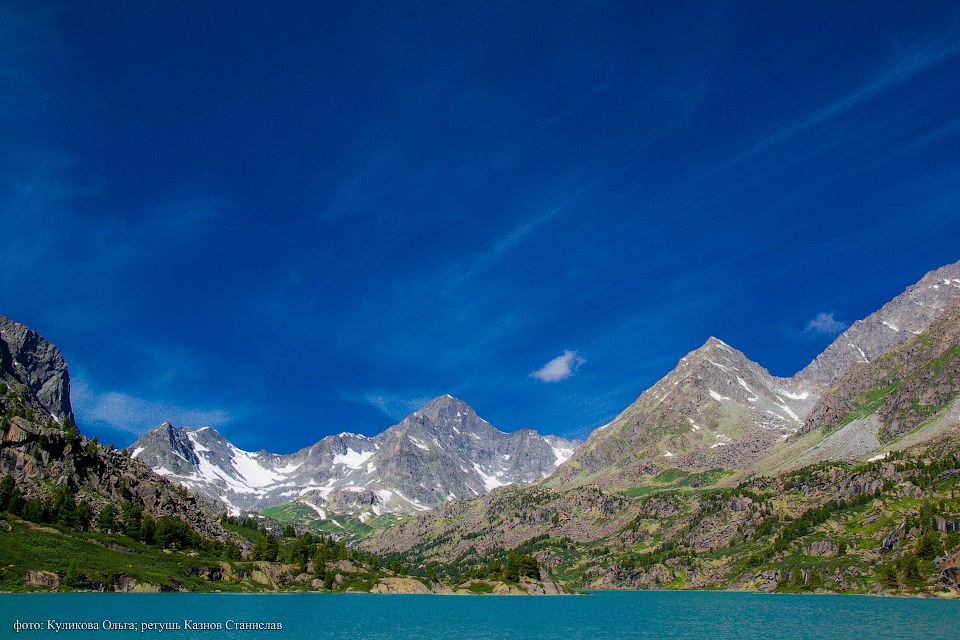 Пейзажи горного Алтая