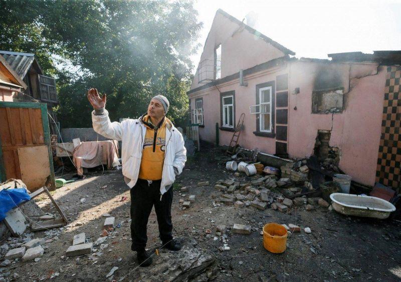 Последствия взрывов в Калиновке (8 фото)