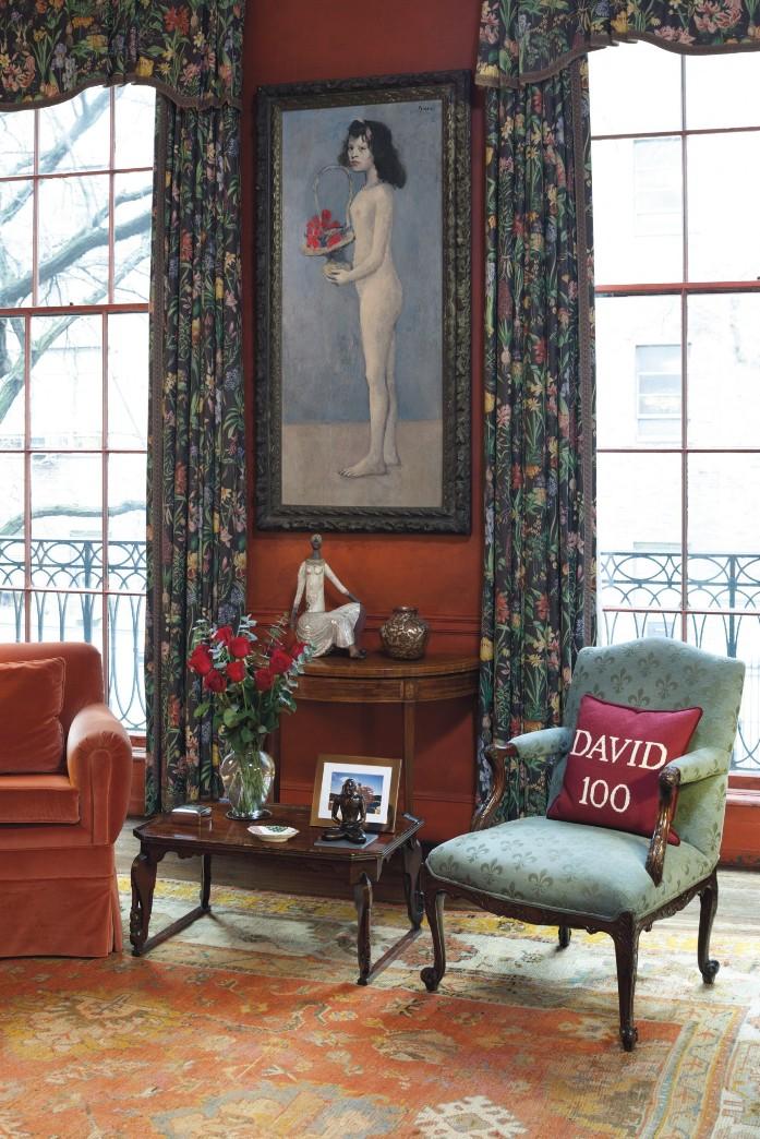 Шедевр Пикассо, созданный в 1905 году, «Девушка с цветочной корзиной» является изюминкой коллекции (