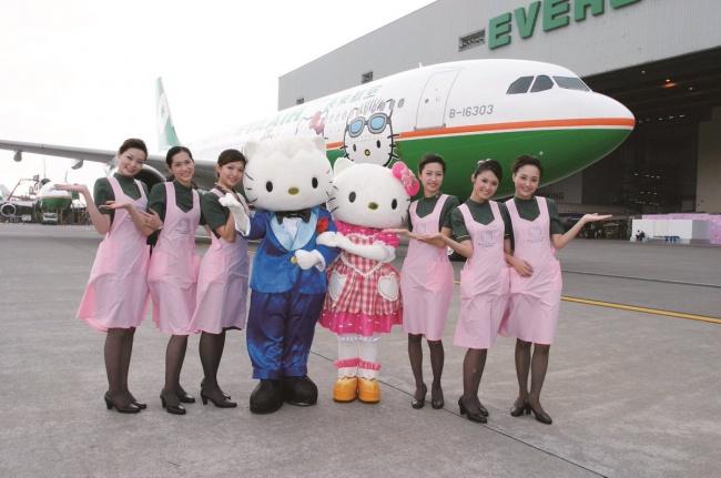© EVAAirUS/Twitter     В2005 году компания EVA Air совместно сSanrio запустила нескольк