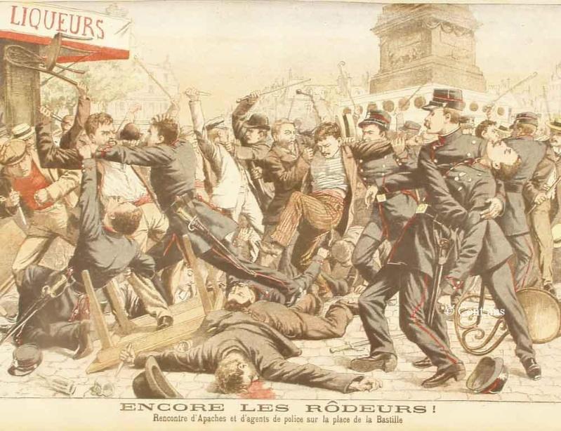 гопники преступники субкультура Франция хулиганство