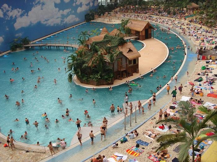 ангар Бранденбург курорт отдых пляж