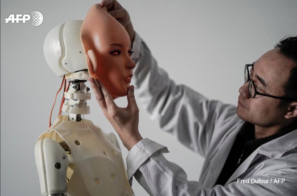 В Китае создали секс-роботов, которые могут мыть посуду