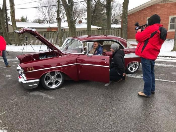 Chevy Bel Air 1957: сюрприз для деда