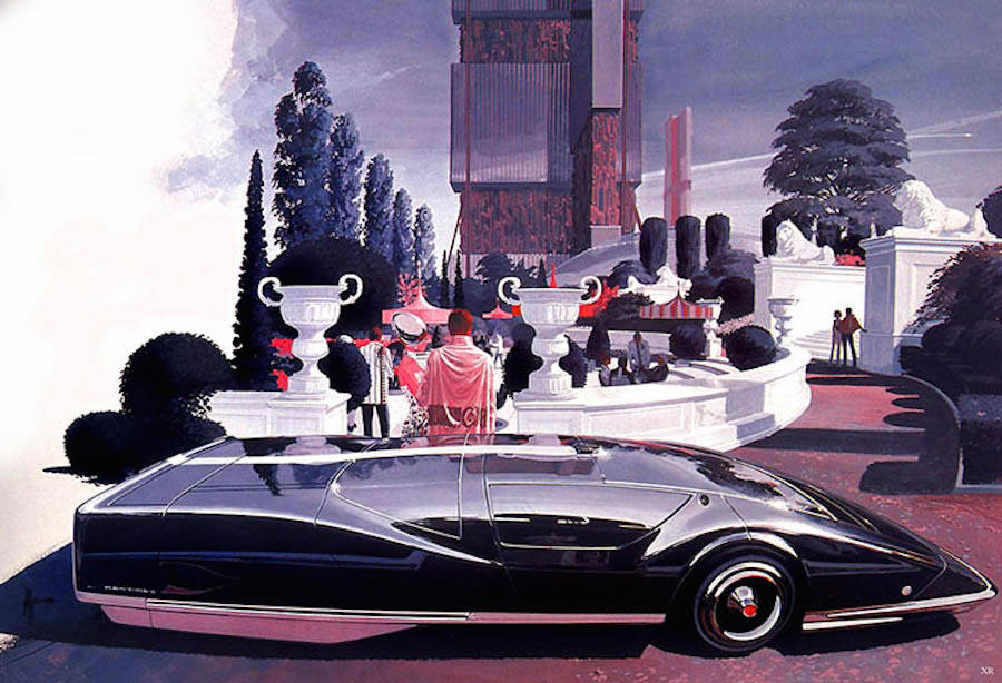 Retro-Futuristic Illustrations by Syd Mead (15 pics)