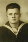 Краснофлотец П.Ф. Корсунов. Таллин, 4 ноября 1940г.