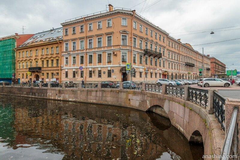 Дома по набережной Адмиралтейского канала, Санкт-Петербург