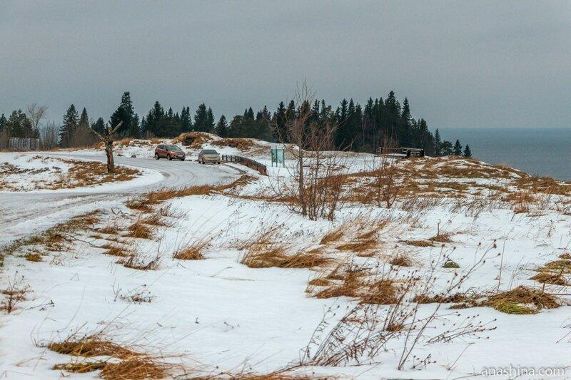 Смотровая площадка на Андома-горе, Вологодская область