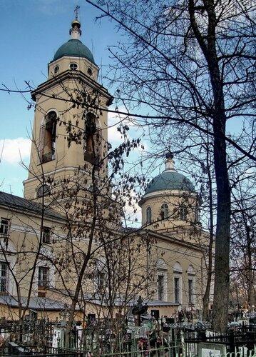 Церковь Иконы Божией Матери Всех Скорбящих Радость на Калитниковском кладбище