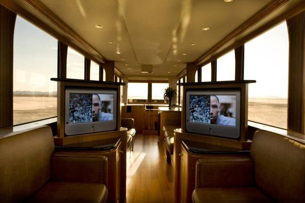 Дома для голливудских звезд на колесах