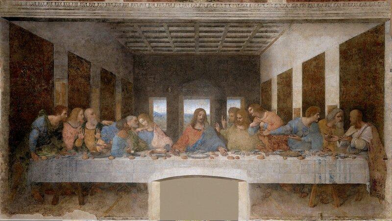 Леонардо да Винчи «Тайная вечеря» ... .jpg