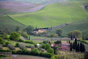 тосканский пейзаж