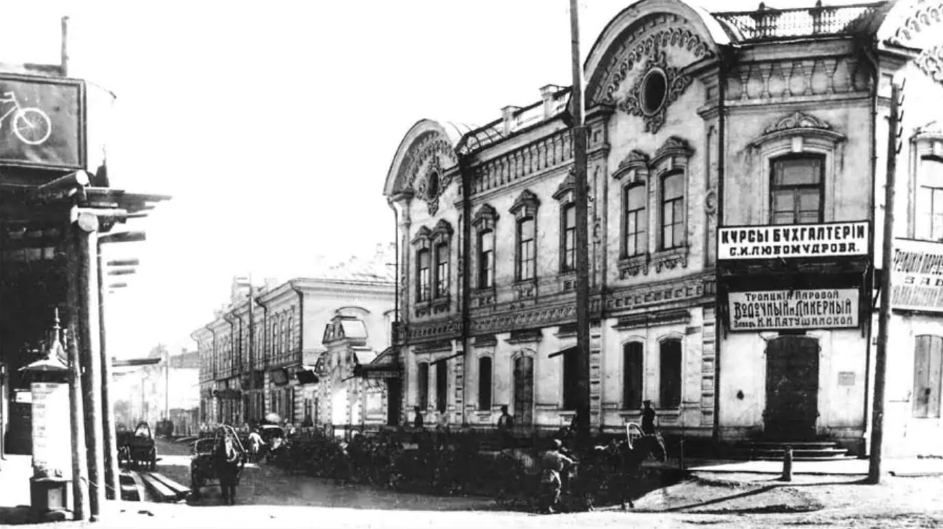 Два дома Родионова на Котельниковской улице