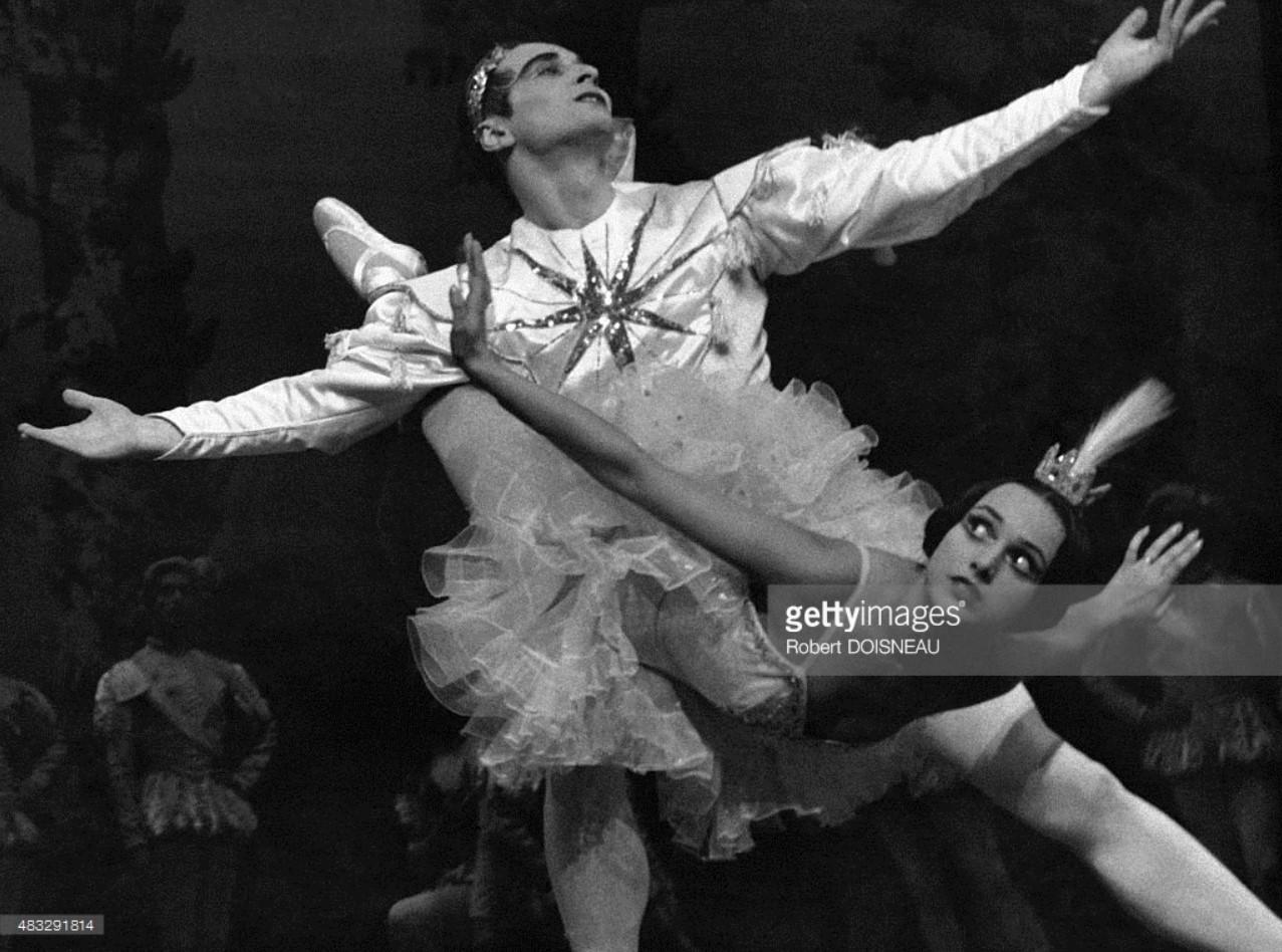 1950-е. Французкая балерина Лиан Дейде на сцене