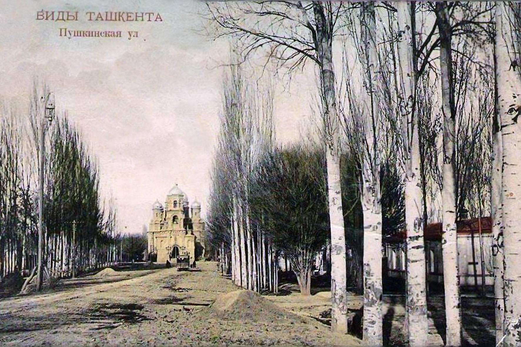 Пушкинская улица. Церковь Сергия Радонежского